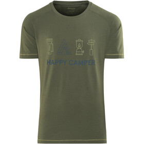 Bergans Happy Camper - T-shirt manches courtes Homme - olive